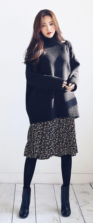 815 best korean fashion winter images on pinterest. Black Bedroom Furniture Sets. Home Design Ideas