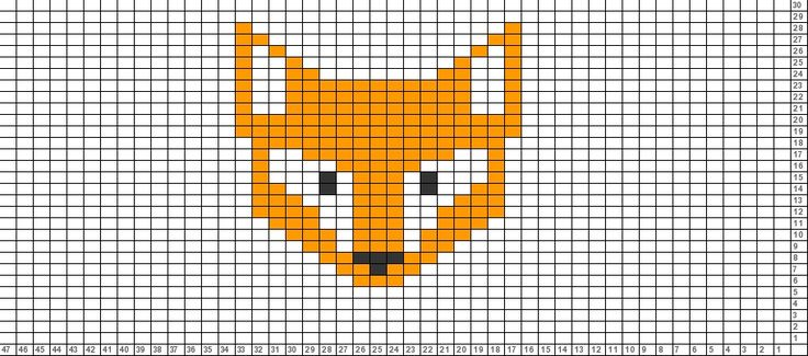 Tricksy Knitter Charts: What does the fox say?