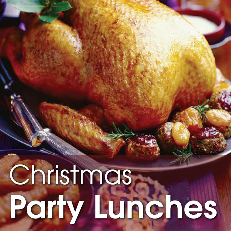 Christmas party lunches