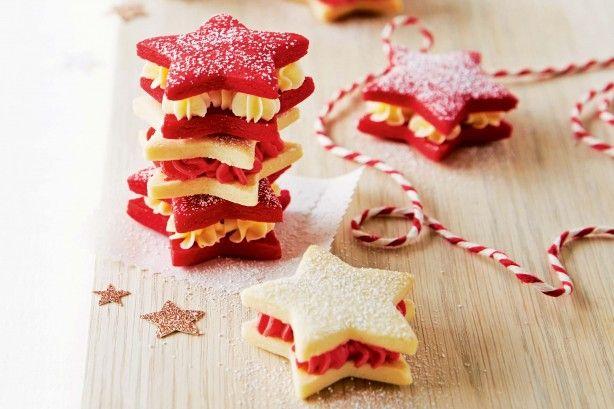 For an edible Christmas gift everyone will enjoy create these buttery biscuit stars.