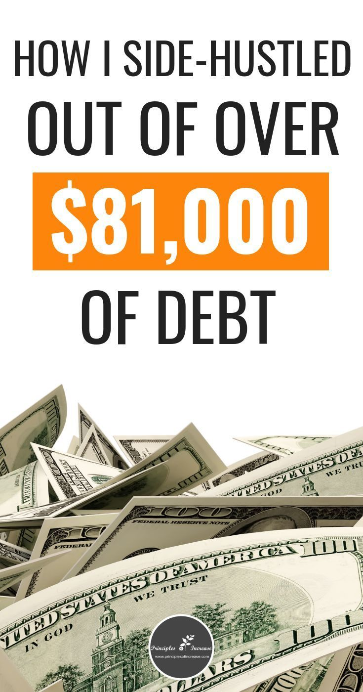 How Side-Hustling Helped Me Pay off Over $81,000 in Debt