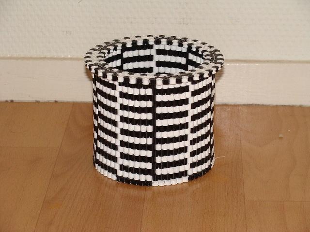 HAMA Cub / Tray / Vase (my own design) by Yoshi 2000, via Flickr