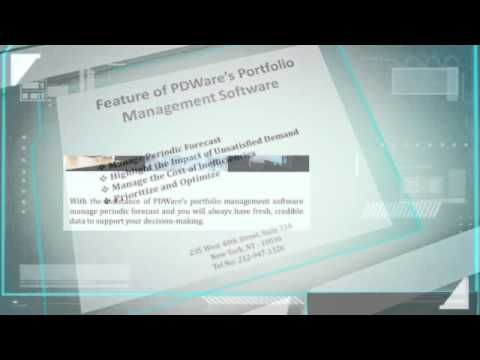 Make the right choices and increase productivity and ROI with the assistance of portfolio management software. PDWare provides portfolio management software for increase operational results and efficiency.