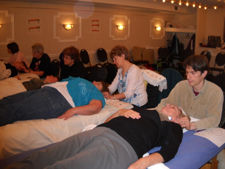 Applying two days of learning combining Ear Reflexology map reflex points, Master Points, and Functional Points. www.AmericanAcademyofReflexology.com
