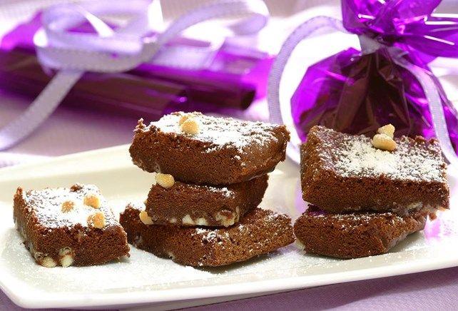 Brownies met chocoladestukjes