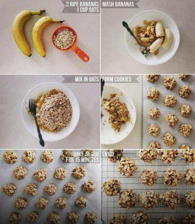 """Healthy cookies. What.. I think this is the beginning of a """"healthy cookie"""" epidemic. BANANA?!"""