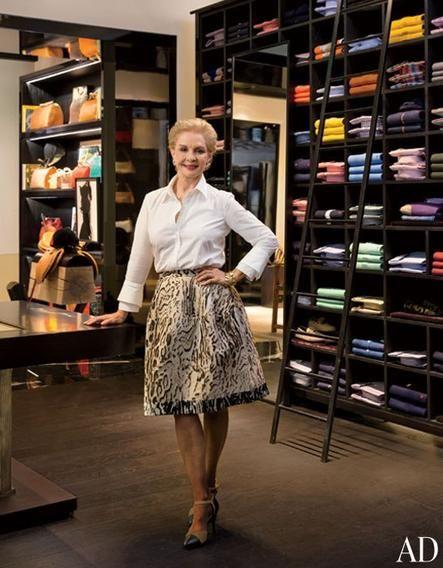 Acclaimed designer Carolina Herrera opens her new CH Carolina Herrera boutique on Rodeo Drive.