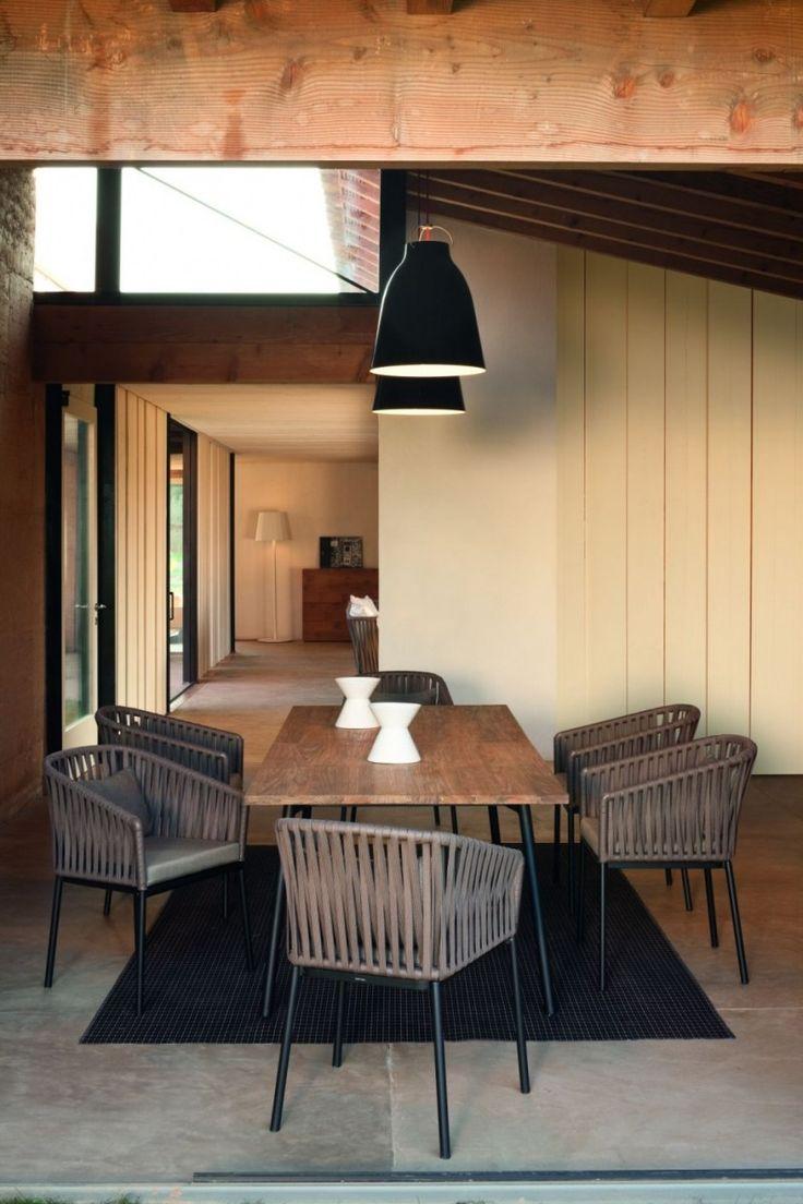 Wunderbar Sitzen, Korbmöbel, Outdoor Möbel, Möbeldesign, Esszimmer Design,  Tischdesign, Home Interior Design, Design Für Zuhause, Design Häuser