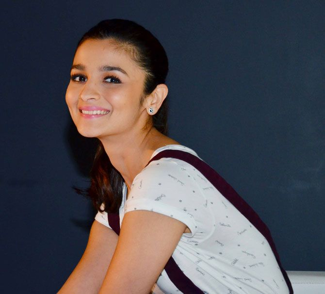Alia Bhatt at a promotional event for Garnier. #Bollywood #Fashion #Style #Beauty