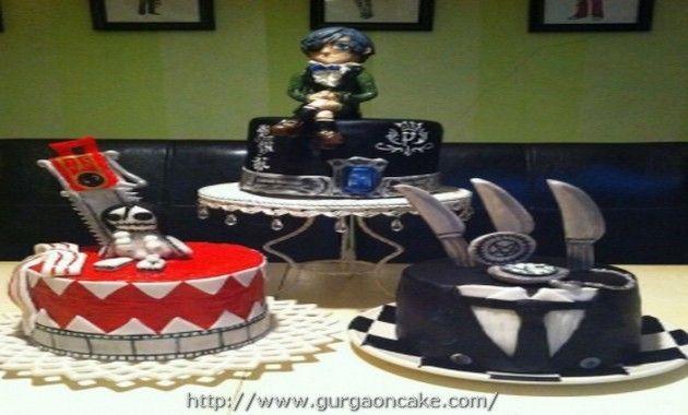 Anime Birthday Cake Black Butler
