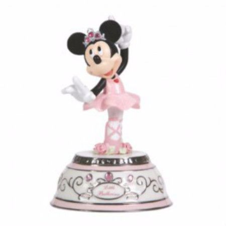 Little Ballerina - Minnie Mouse Rotating Musical - Precious Moments