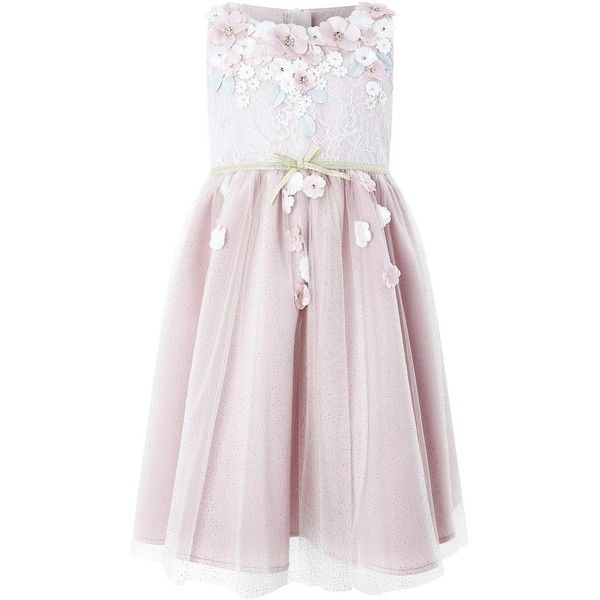 Monsoon Cherry Blossom Dress (470 DKK) ❤ liked on Polyvore featuring dresses, cherry blossom print dress, cherry blossom dress, pink dress, cherry blossom pink dress and monsoon dresses