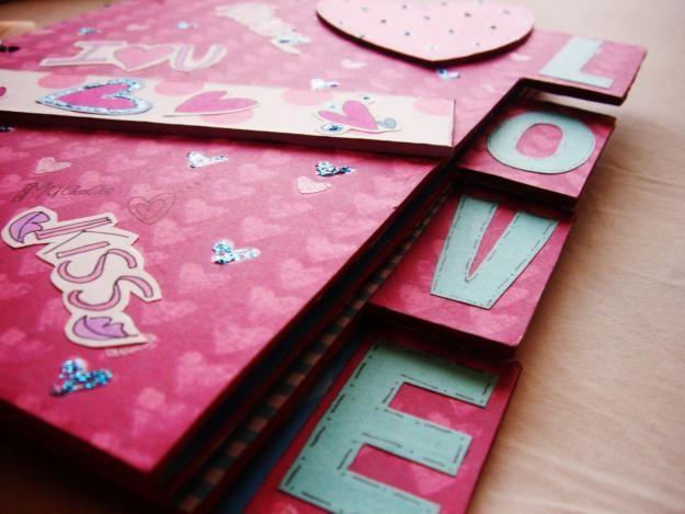 37 best como decorar personalizar tarjetas - Como decorar un album de fotos ...