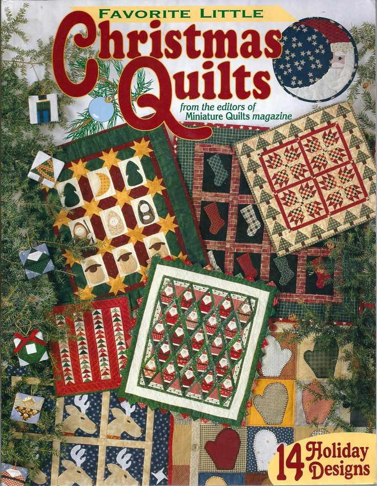 Favorite Little Christmas Quilts - 14 Holiday Designs - Quilting Pattern Book