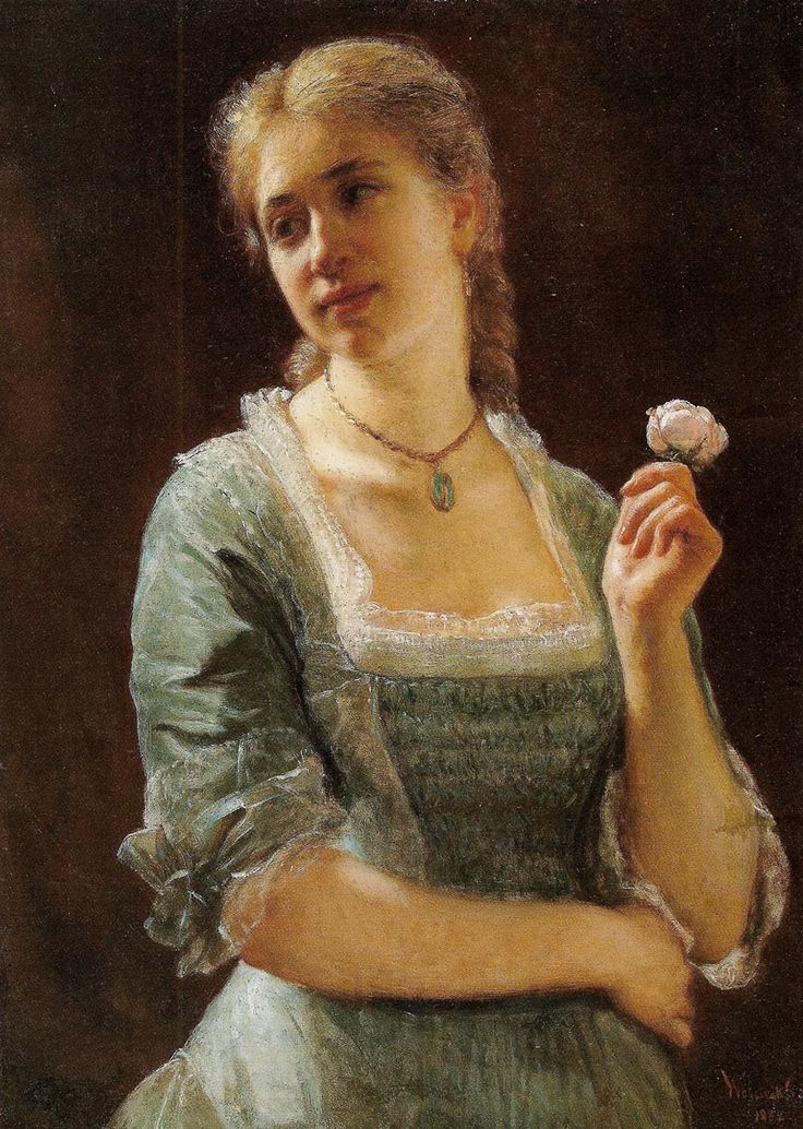 Jadwiga Strachocka nee Szpet, Wojciech Gerson, 1882