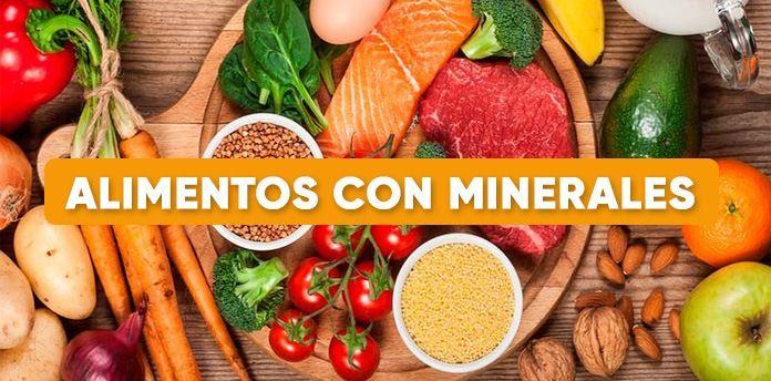 Alimentos Con Minerales Alimentos Alimentos Ricos En Yodo Alimentacion Sana