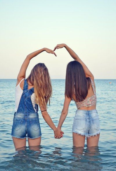 Best Friend Photography ~ ~Summer in Greece~ By the sea Heart  Denim outfit  Badila,with love!