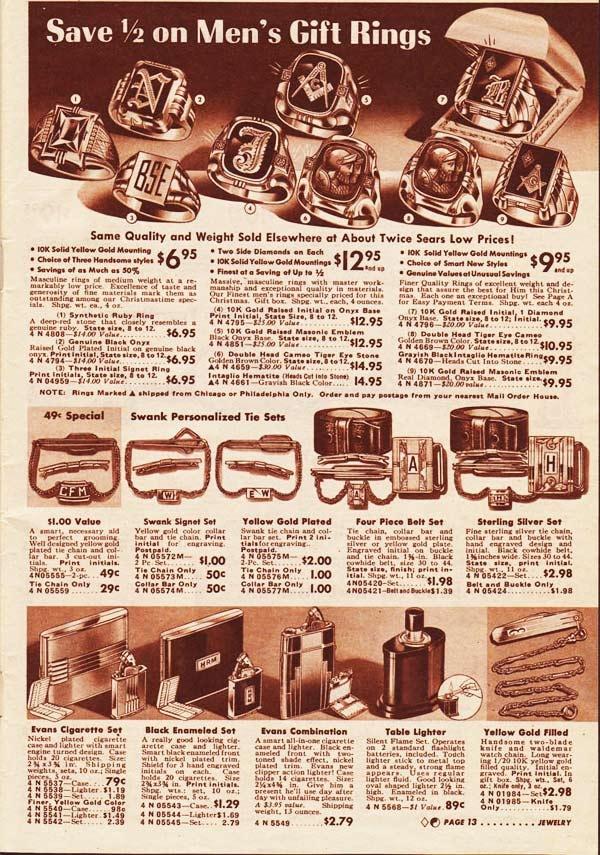 c80b922df0 Vintage Mens Rings