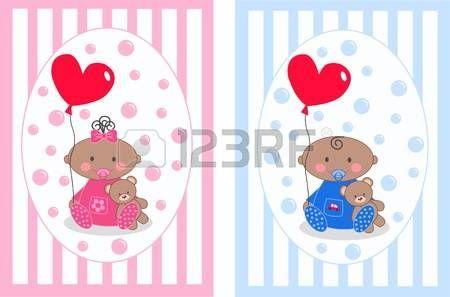 bebe recien nacido dibujo: aviso del bebé