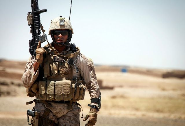 US Marine Force Recon in Afghanistan