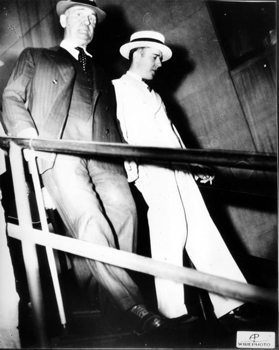 """Alvin Karpis 1936 Alvin Karpis was a member of the notorious """"Ma Barker Gang,"""" also known as the """"Barker-Karpis Gang,"""" which terrorized the Midwest in the early and mid-1930s with bank robberies, kidnappings, and murders. Karpis was arrested by J. Edgar Hoover himself. Karpis served 26 years on Alcatraz -- more than any other inmate."""