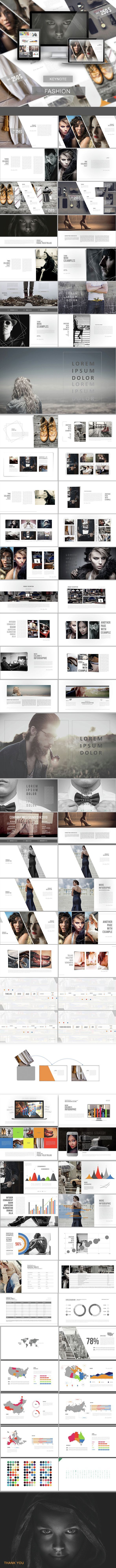 Fashion - Keynote Presentation Template