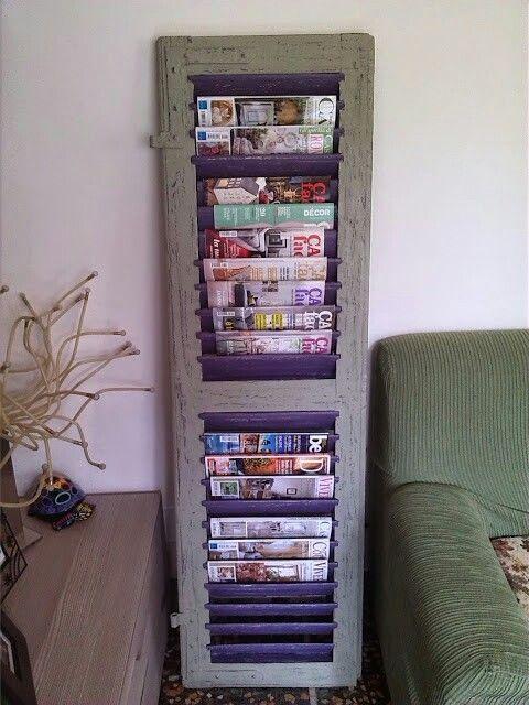 Magazine rack... fantastic!