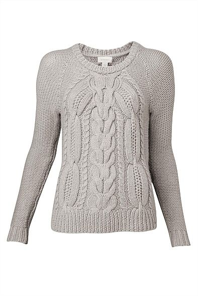Chunky Cable Knit #witcherywishlist