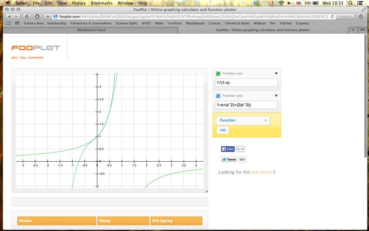 Graphing Online