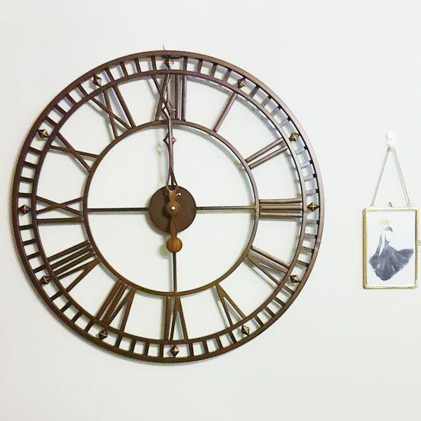 高級アイアンフレーム掛時計 世界で最も歴史の古い時計メーカーAMS社の通販サイト(画像あり) アイアンフレーム