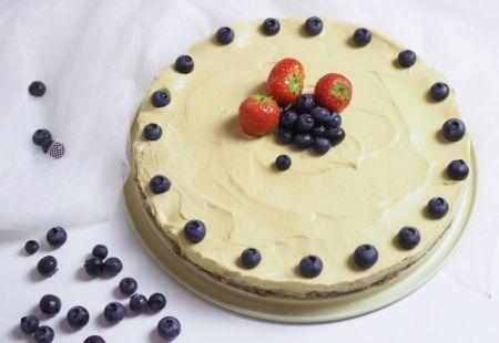 Mangový cheesecake bez pečenia | Casprezeny.sk