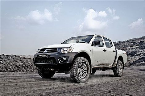 Mitsubishi Strada Triton HD X. For offroad I choose this, it has Pajero engine, great for offroad.
