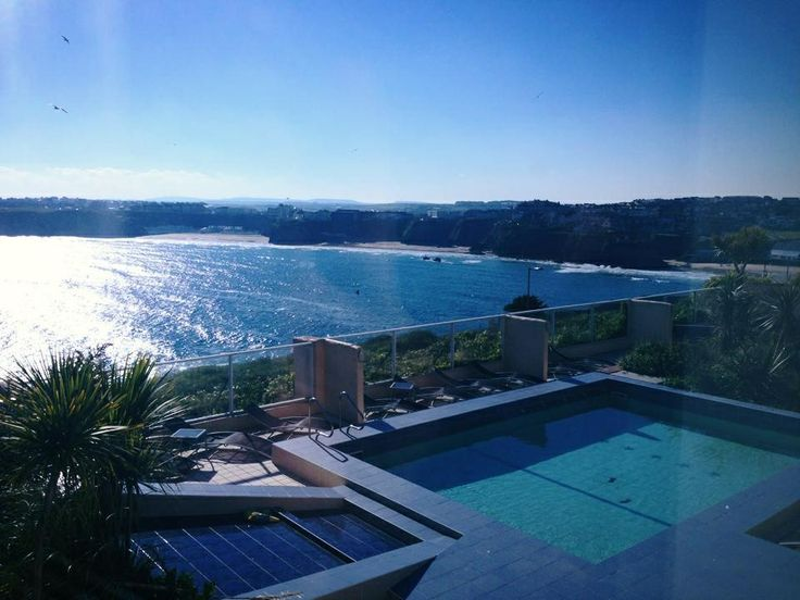 15 best newquay views atlantic hotel images on pinterest - Hotels with swimming pools cornwall ...