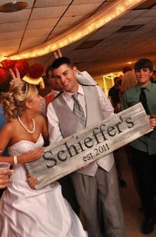 Order soon for June weddings!: Neat Idea, Gift Ideas, Wedding Ideas, Cute Ideas, Wood Signs, Old Wood, Last Name Signs, Wedding Gifts