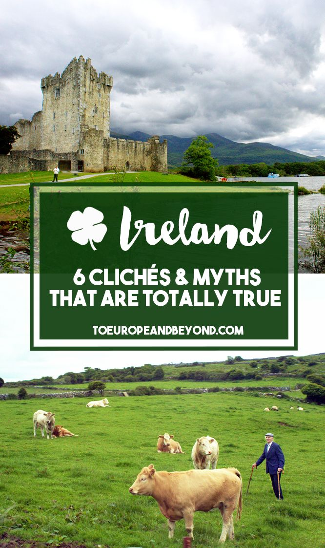 After visiting Ireland on several occasions, I have come to realize that most of the preconceived ideas we have on Ireland and its people are, in fact, absolutely true. http://toeuropeandbeyond.com/ireland-cliches/ #travel #Ireland