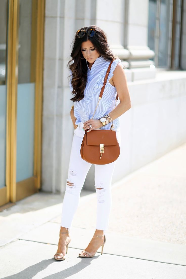 The Cutest Ruffly, Blue Topshop Top   The Sweetest Thing   Bloglovin'