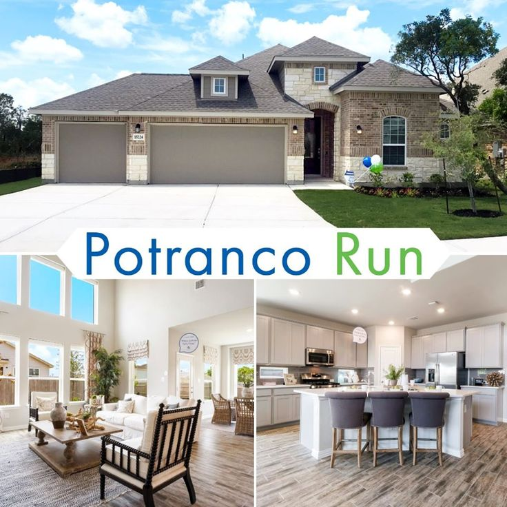 Lennar at Potranco Run is a beautiful gated community now