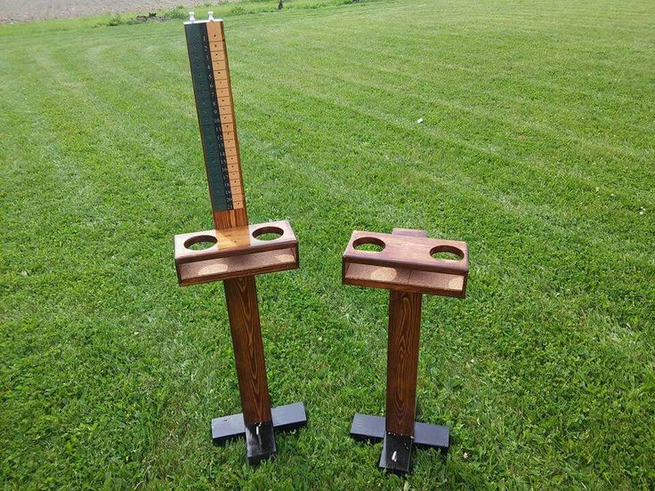 I built this cornhole score tower and drink holder in May 2016 for a customer.