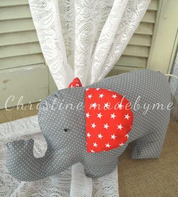 Υφασμάτινα ελεφαντάκια