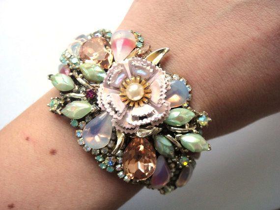 Wrist corsage: Bridal Bracelet, Wedding Bracelets