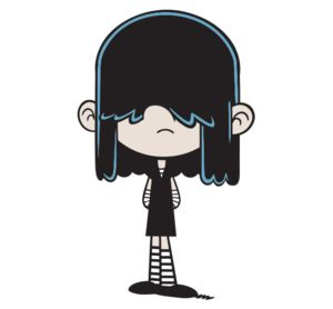 The Loud House: Lucy Loud (8 yrs old)