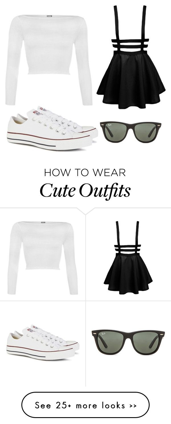 """""""Luke's Outfit"""" by missmollymaycarolan on Polyvore featuring WearAll, Converse and Ray-Ban《ชุดไปเที่ยว》"""