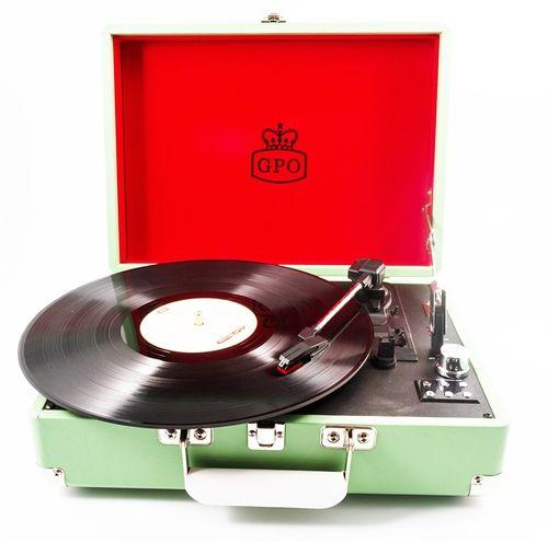 GPO Attache Case Turntable Record Player