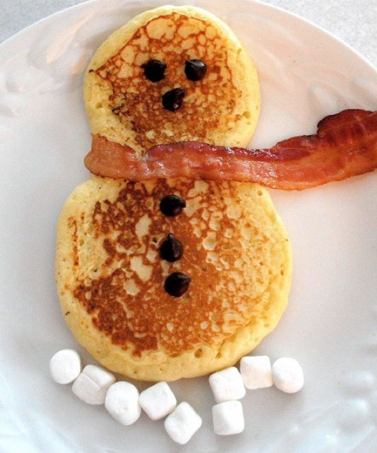 Lots of really cute and easy Christmas breakfast ideas!!! #christmas #noel #breakfast