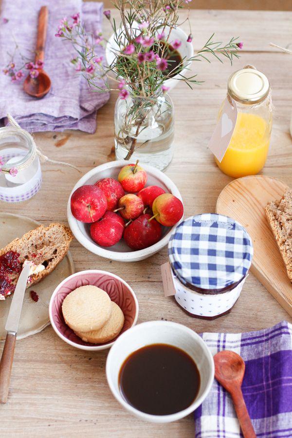 M s de 1000 ideas sobre decoraci n de mesa de desayuno en for Mesa desayuno