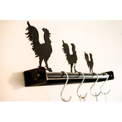 Rooster Kitchen Utensils Holder
