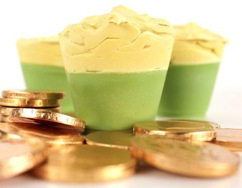 Luck of the Green Beer Soap (soap uses actual beer in recipe)