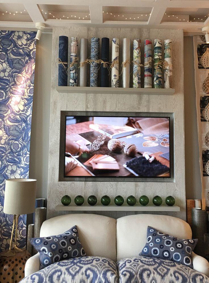 An onscreen scheme showing in the interior design studio