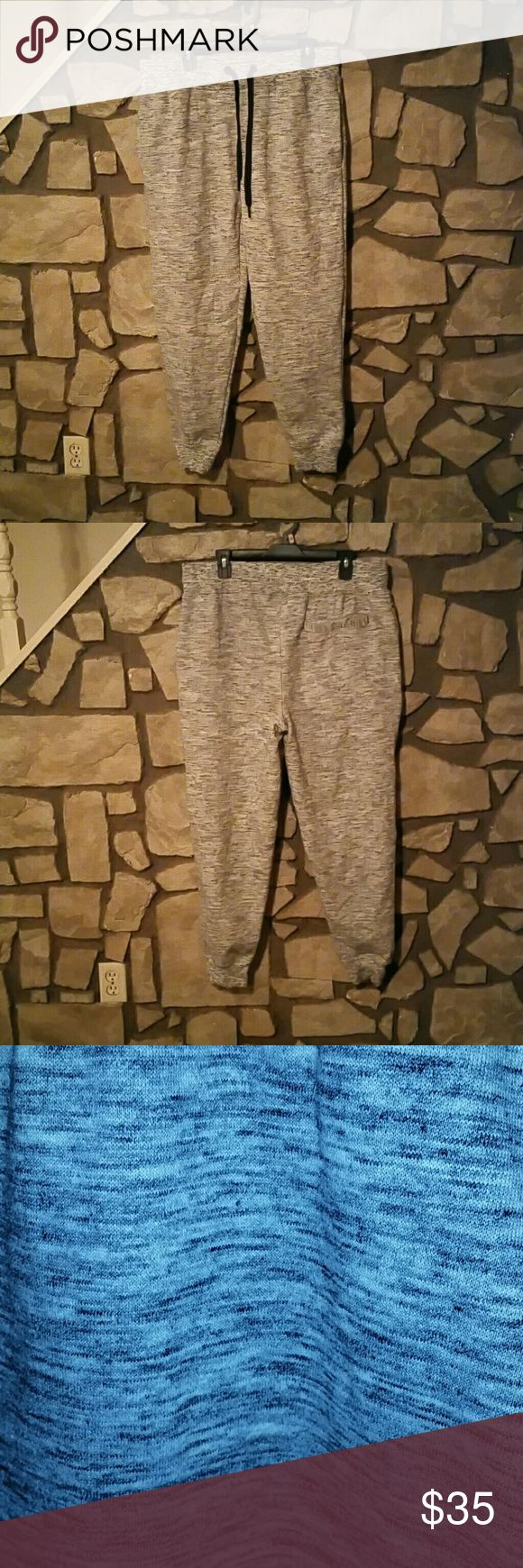 Fleece Joggers Premium fleece Tapered fit Ribbed cuff  Never worn. Champs Sports Gear Pants Sweatpants & Joggers