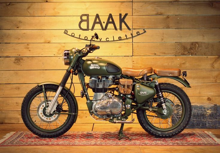 Royal Enfield Scrambler by BAAK Motocyclettes